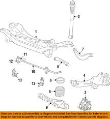 ford focus suspension diagram ford focus rear suspension