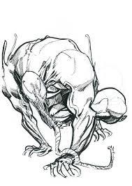 venom eric canete in anim sketch u0027s commissions comic art gallery room