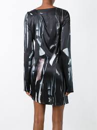 ann demeulemeester asymmetric drape dress 099 women clothing