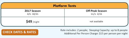 platform tent platform tents rivermen