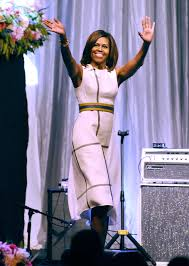 Michelle Obama U0027s Ladylike Chic by Dress Gold White Explanation Best 25 Makeup For White Dress