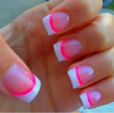 pink and white french tip nail designs u2013 great photo blog about