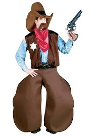 Cowboy Indian Halloween Costumes Adults Ole Cowhand Cowboy Costume