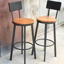 High Chair Desk Usd 37 22 American Retro Iron Bar Chair Chair Front Desk Chair
