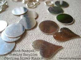 Stamped Jewelry Hand Stamped Necklace Tutorial Diy Gift