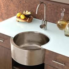 sinks kohler trough prep sink stainless steel kitchen trough