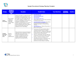 hr strategy template recruitment strategy template hrm guide throughout recruiting plan