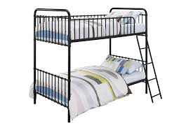 DHP Furniture Novogratz Berkshire Iron TwinTwin Bunk Bed - Vintage bunk beds