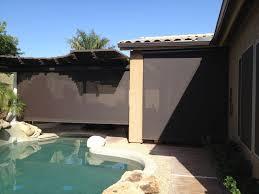 roll down patio shades aaa sun control