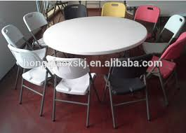 6ft Banquet Table by 6ft Plastic Folding Round Table Banquet Folding Table Big Round