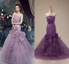 purple white wedding dress ten reasons you should fall in with purple wedding