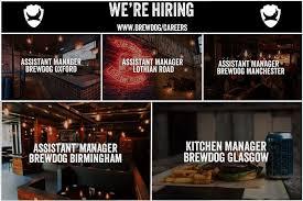 Kitchen Manager Re Brewdog Linkedin