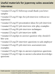 Retail Associate Resume Example by Top 8 Jcpenney Sales Associate Resume Samples