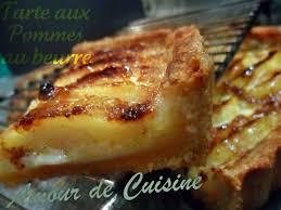 cuisine tarte aux pommes tarte aux pommes au beurre recette le beurre la pomme et beurre