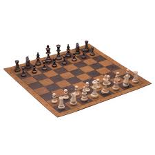 Diy Chess Set by Leather Chess And Checkers Set