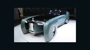 roll royce future car how a rolls royce might look in 2114 cnn video