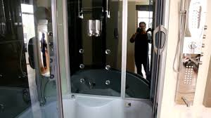 two person steam shower with whirlpool bathtub st 8808b youtube