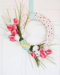 Wreath Diy 20 Pretty Spring Wreaths You Can Diy