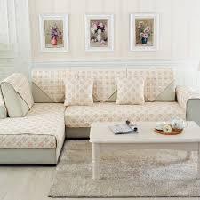 furniture home extraordinary white slipcovered sectional sofa in