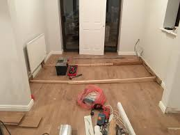 Skirting For Laminate Flooring Laying Venezia Oak Laminate Flooring From Wickes Life Of Man