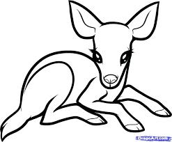 christmas deer coloring pages john deere gator white tailed deer