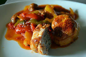 cuisiner paupiette de dinde recette de paupiettes de dinde aux poivrons