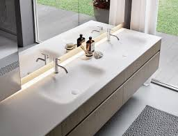sintesi 101 luxury italian bathroom vanity in piombo matt essence