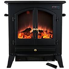 Electric Fireplace Stove Golden Vantage 25 1500w Freestanding Portable