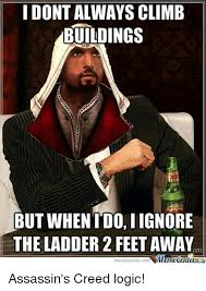 Funny Assassins Creed Memes - 25 best memes about assassins creed logic assassins creed
