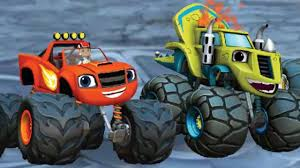 monster trucks racing games blaze and the monster machines race to the top of the world
