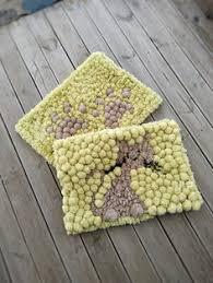 Pom Pom Rug Instructions Pom Pom Rug Handmade Bathroom Mat Home Decor Pom Pom Baby Carpet