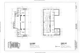 Church Floor Plans by File Basement And Choir Loft Plans Saint Sebastian Church 476