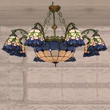Tiffany Chandelier Lamps Fashion Style Large 31 In Wide And Up Tiffany Lights