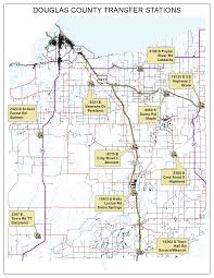 Highway Map Of Wisconsin by Drop Off Locations Douglas County Wi Official Website
