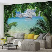 tropical beach island photo wallpaper mural 2598wm beach tropical beach island photo wallpaper mural 2598wm