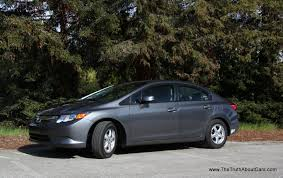 review 2012 honda civic natural gas the truth about cars