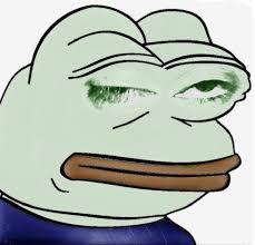 Frog Face Meme - meme clipart