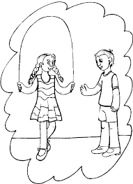 summer vacation coloring pages summer vacation coloring page jumping jump roping are great