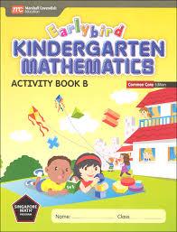 earlybird kindergarten math common core edition activity book b