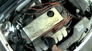 vw a3 vr6 removing spark plug wires u0026 spark plugs youtube
