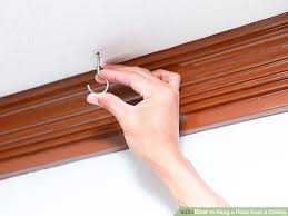 Popcorn Ceiling In A Can by How To Hang A Hook From A Ceiling 9 Steps With Pictures