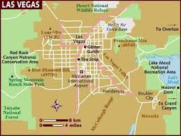map us las vegas map of las vegas
