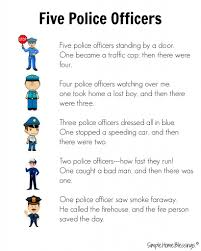 preschool helpers police men simple home blessings
