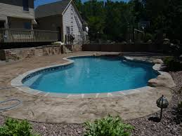 debest july 2010 vinyl liner pool and retaining wall firepit by