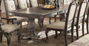 old world dining room tables washed gray old world 5 piece dining set kiera collection rc