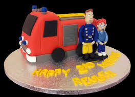 fireman cake topper sam and norman engine cake