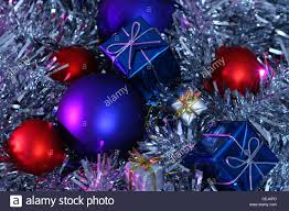 a metallic bauble tree decorations large blue