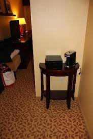 Coffee Maker Table Side Table For Coffee Maker Picture Of Portland Marriott At