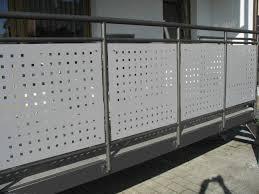 balkon metall balkonverkleidungen alles für haus und garten aus metall