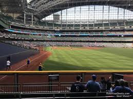 Miller Park Seating Map Miller Park Section 104 Rateyourseats Com